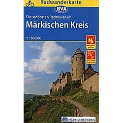 BVA Radwanderkarte Märkischer Kreis - Buch