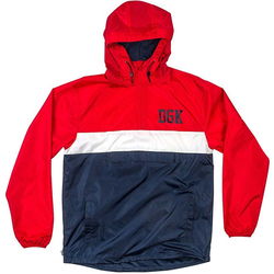 Jacke DGK - Blocked Jacket Red (RED)