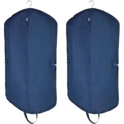 WENKO Kleidersack Business Premium mit Schuhtasche 2er Set, Kleidersack: je 112 x 62 cm, Tasche: je 40 x 30 cm, strapazierfähiges Polyester, abwaschbar