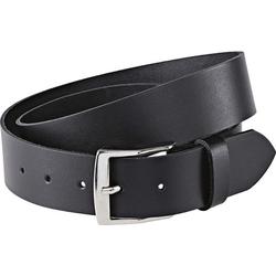Ledergürtel, schwarz, Gr. 75 cm - 75 cm - schwarz