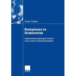 Realoptionen im Direktvertrieb als Buch von Gregor Treptow