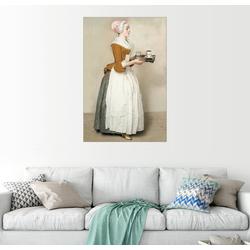 Posterlounge Wandbild, Das Schokoladenmädchen 60 cm x 90 cm