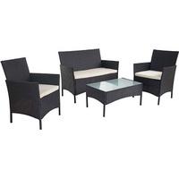 Gartenmobel Set 2 Stuhle 1 Tisch Preisvergleich Billiger De