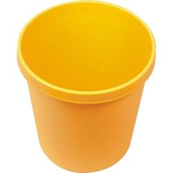Papierkorb rund 18l gelb