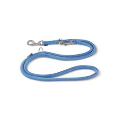 Wolters Hundeleine K2 Tau, Nylon blau M - 0 cm x 2 m