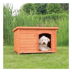 Trixie Hundehütte Natura mit Flachdach, L: 104 x 72 x 68 cm