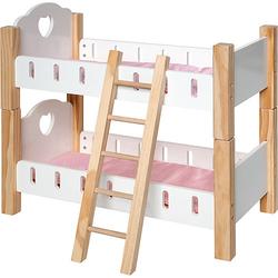 Holz Puppenetagenbett