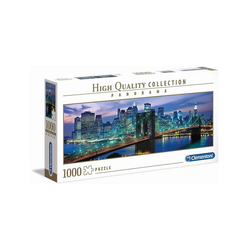 Clementoni® Puzzle Clementoni 39434 - High Quality Collection - New York Brooklyn Bridge Panorama Puzzle, 1000 Teile, Puzzleteile