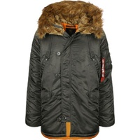 Alpha Industries N3B VF 59 schwarz-grau XL