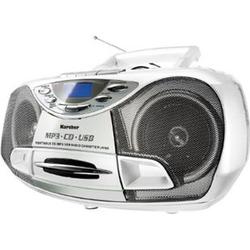 Karcher RR510NW tragbares Stereo-CD-Radio - weiß