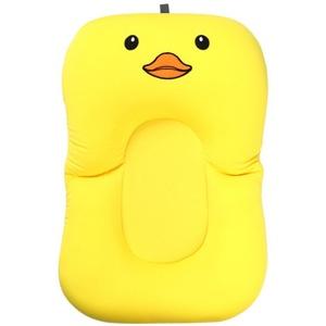 Zebery Baby Infant Badewannenkissen Baby Badewannenkissen Neugeborene Badewanne Unterstützung Anti-Rutsch Badewannenkissen für 0-6 Monate