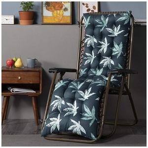 YOUCAI Auflage für Deckchair Liege-Stuhl Polster-Auflage Weich Und Bequem Dicker Bezug für Den Außengebrauch,48x120cm,Grün
