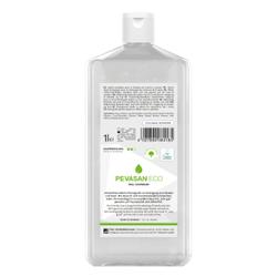 PEVASAN ECO Flüssigseife, Umweltfreundliche Handseife mit Glycerin und hautschonenden Zuckertensiden, 1 Liter - Hartflasche