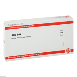 Aloe D 6 Ampullen 8X1 ml