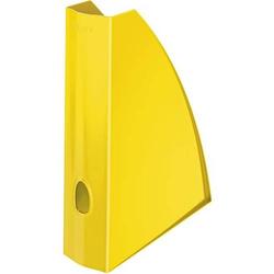 Stehsammler Wow A4 Polystyren gelb