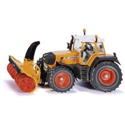 SIKU Spielwaren Traktor mit Schneefräse
