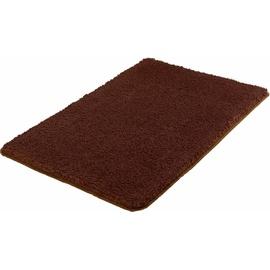 Meusch MEUSCH, Badematte Super Soft Höhe 23 mm, fußbodenheizungsgeeignet-strapazierfähig, rutschhemmender Rücken braun Einfarbige Badematten
