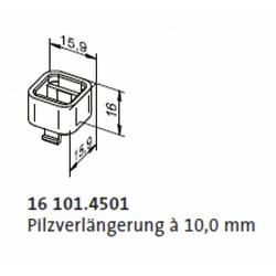 elero 161014501 Pilzverlängerung à 10,0 mm