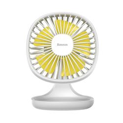 Baseus Tischventilator Baseus Ventilator Cooling Fan Schreibtisch Tischventilator USB Lüfter Ein / Aus Schalter für Schreibtisch Büro Laptop Computer Powerbank Netzstecker