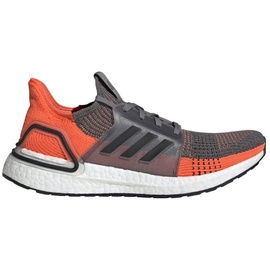 adidas Ultraboost 19 M grey four/core black/hi-res coral 44 2/3