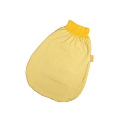 Hoppediz Babyschlafsack HD Wohlfühl-Strampelsack 50-62 gelb gestreift mit