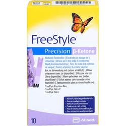 FREESTYLE Precision ß-Ketone Blutketon Teststreif. 10 St.