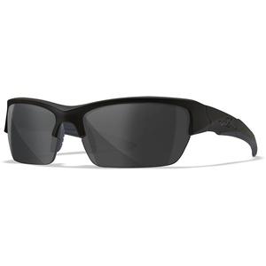 Wiley X Schutzbrille von WX, Unisex, Sonnenbrillen, Wx Valor, Matte Black/Ops Poalrized Smoke/Grey