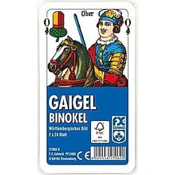Gaigel / Binokel  Württembergisches Bild (Spielkarten)