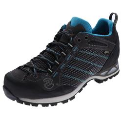 Hanwag Hanwag Damen Hiking Schuhe Makra Low Lady GTX Damen Hikingschuhe Grau Outdoorschuh 37.5 (4.5 UK)