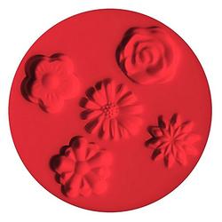 "FIMO Silikonform ""Blumen"""
