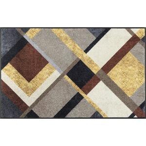 wash+dry Fßmatte, Art Deco 75x120 cm, innen und außen, waschbar