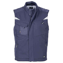 Workwear Winter Softshell Weste - STRONG - (navy/navy) L