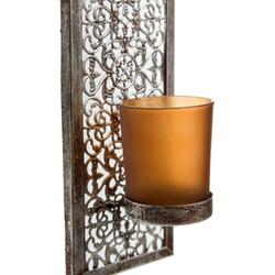 Home affaire Wandkerzenhalter Rana (Set, 2 Stück), Wandleuchter, Kerzenhalter, Kerzenleuchter, Wanddeko, Wanddekoration