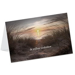 LUMA Trauerkarte Meer DIN B6