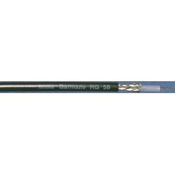 bedea Berkenhoff&Drebes RG-Kabel RG 58 sw Tr.500