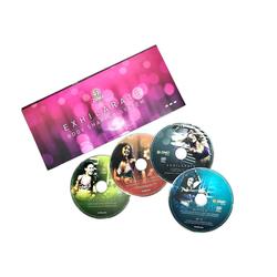Zumba Fitness Ganzkörpertrainer Zumba Fitness Zumba Exhilarate Body-Shaping-System, 4 DVD's Zumba Video Zumba Workout, (3-tlg)