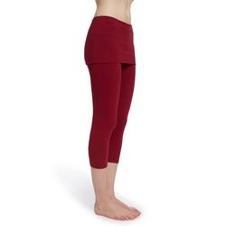 ESPARTO Yogahose Capri, 3/4-Yoga-Rockhose Thanda rot L