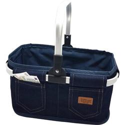 Einkaufskorb Jeans, leer 4095.1