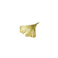 Gallay Kettenanhänger Anhänger 20mm Ginkgoblatt glänzend 9Kt GOLD goldfarben