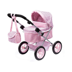 MyToys-COLLECTION Puppenwagen Puppenwagen Trendy pink/blau rosa