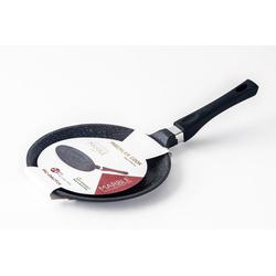 Mischler Cook Crêpepfanne Crepepfanne, Pfannkuchenpfanne, Aluminiumguss (1-tlg) rot