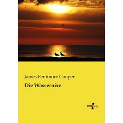 Die Wassernixe als Buch von James Fenimore Cooper