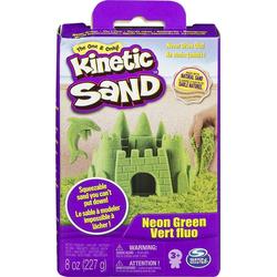 Spin Master Spielsand Kinetischer Sand - verschiedene Farben - 227 g Packung grün