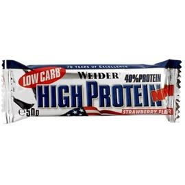 WEIDER Low Carb High Protein Erdbeere Riegel 50 g