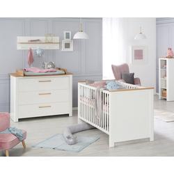 roba® Babymöbel-Set Ava, (Spar-Set, 2-St), mit Kinderbett und Wickelkommode; Made in Europe
