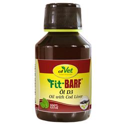 (12,59 EUR/100ml) cdVet FIT-BARF Öl D3 für Hunde 100 ml