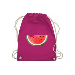 Shirtracer Turnbeutel Wassermelone Wasserfarbe - Turnbeutel