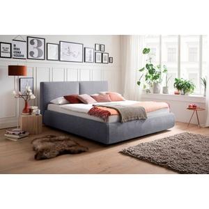meise.möbel Polsterbett, Wahlweise mit Lattenrost, Matratze und Bettkasten blau