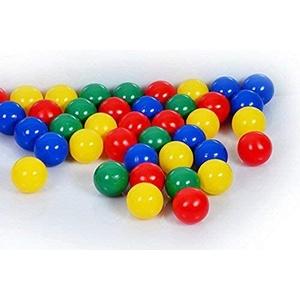 100 Stück Bällebad Bälle 8cm in Kindergarten & Gewerbequalität Babybälle Plastikbälle ohne gefährliche Weichmacher
