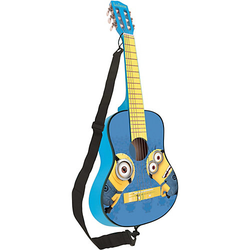 Minions - Akustikgitarre,  78cm blau/gelb
